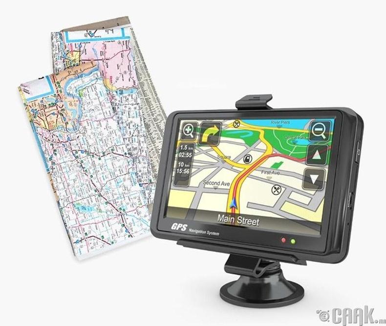"""""""GPS"""" эсвэл газрын зураг"""