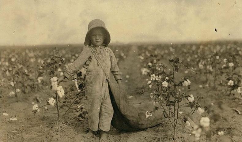 20-р зууны эхэн үе дэх хүнд хүчир ажил эрхлэгч хүүхдүүдийн өрөвдмөөр зургууд