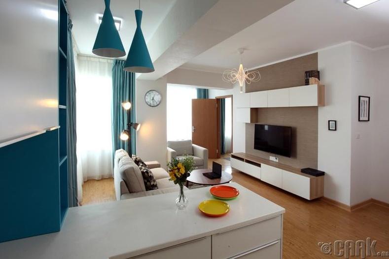 Интерьер, дизайны шилдэг шийдэл бүхий өрөөний сонголтууд