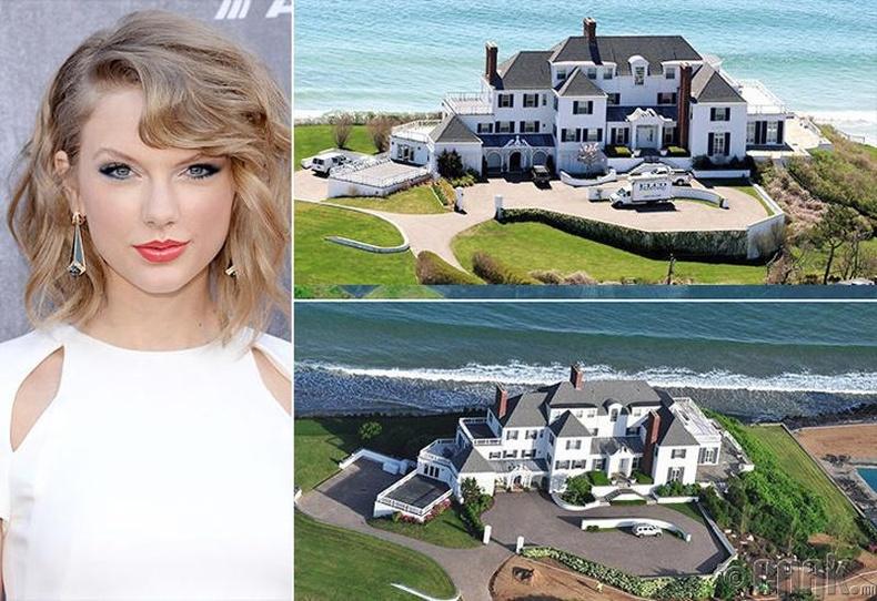 Тэйлор Свифт (Taylor Swift) - Род Айланд, 17 сая ам.доллар