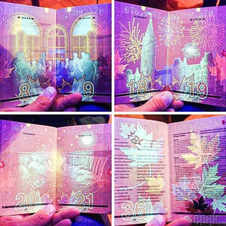 Канадын паспорт