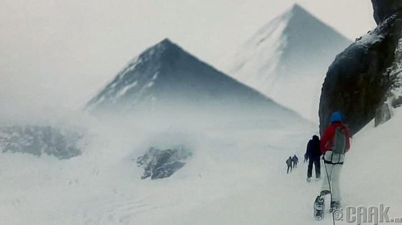 Антарктидын нууцлагдсан пирамид
