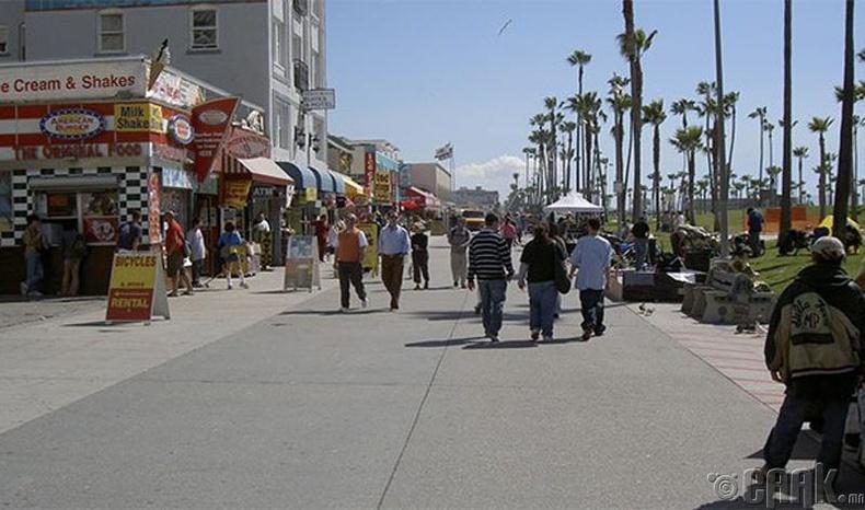 Веницийн арал (Venice beach), Калифорни муж, АНУ