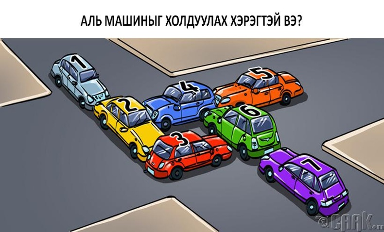 Та аль машиныг холдуулах вэ?