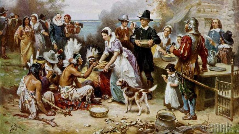 Бид бодохдоо: Талархлын өдрийн уламжлал