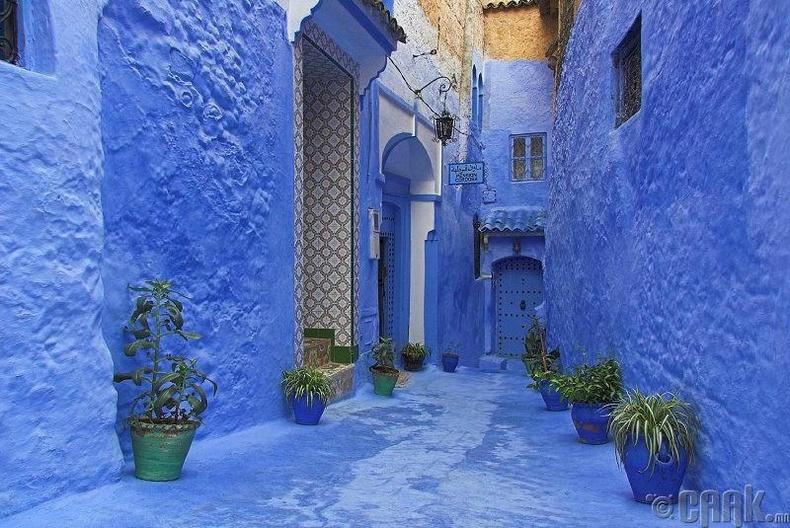 Шефшауэн хот, Марокко