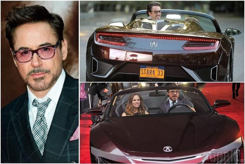Роберт Дауни Хүү – Acura NSX – $1 сая