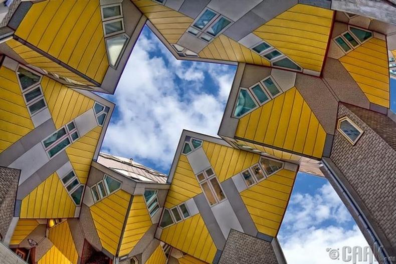 Роттердамын куб байшин