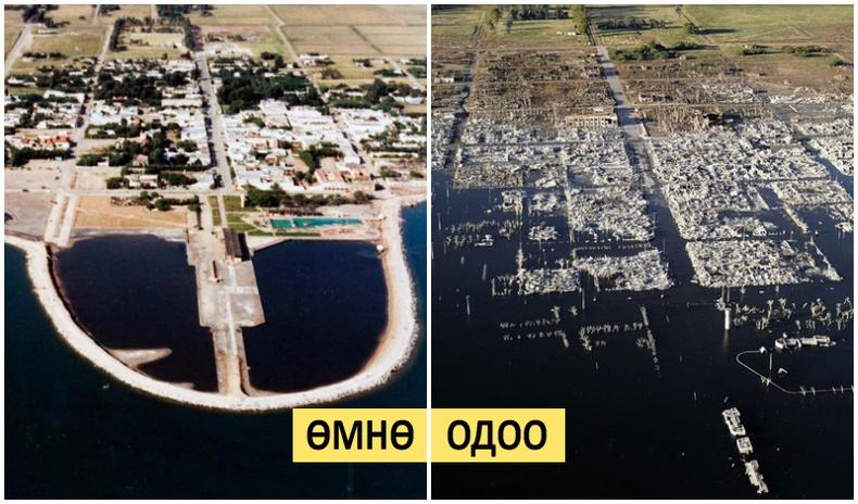 25 жилийн турш үерийн усан доор байсан хот ямар харагддаг вэ?