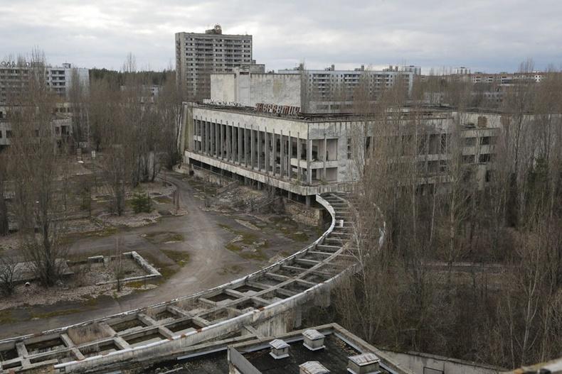 Чернобыль, Украин
