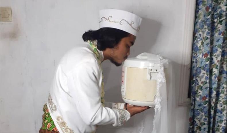 Индонези залуу будаа агшаагчтай гэрлээд, 4 хоногийн дараа салжээ