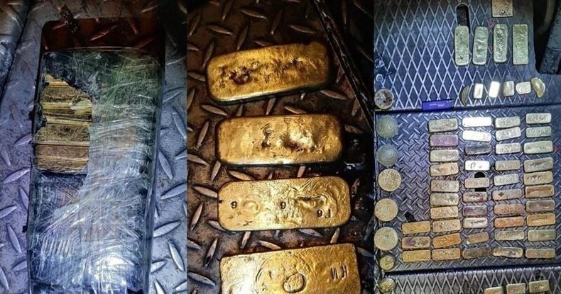 Галт тэрэгний машинистууд Хятадын хилээр 37 кг алт давуулах гэж байгаад баригджээ