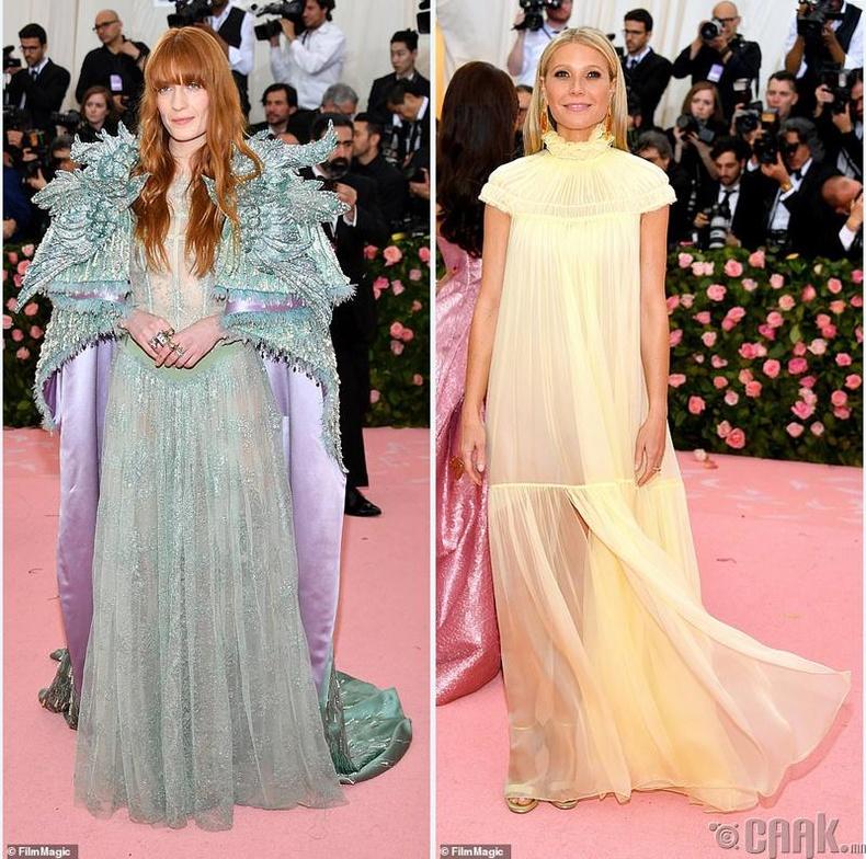 Дуучин Флоренс Уэлч (Florence Welch) болон жүжигчин Гвинет Пэлтроу (Gwyneth Paltrow)