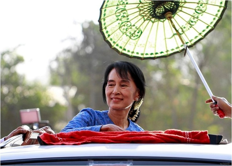 Генералуудыг ялан дийлсэн Ан Сан Су Ки /Aung San Suu Kyi/