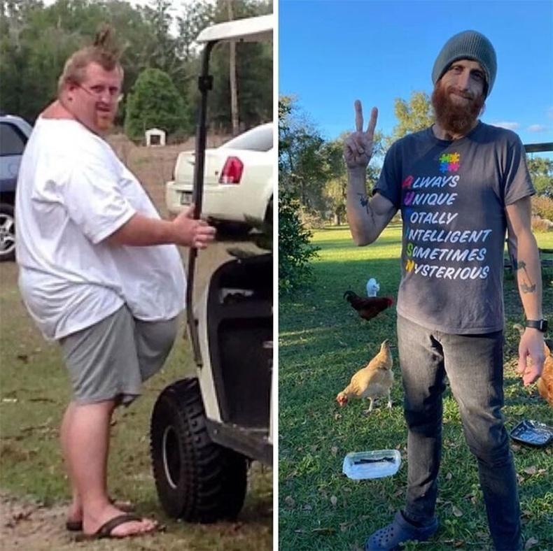 227 кг-аас 4 жилийн хугацаанд 68 кг болжээ.