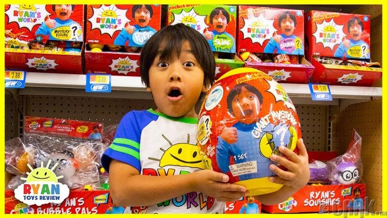 """Ryan ToysReview"" - 22 сая ам.доллар"