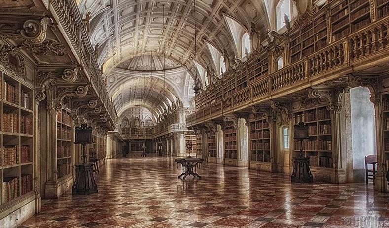 Мафра ордны номын сан, Лиссабон, Португали