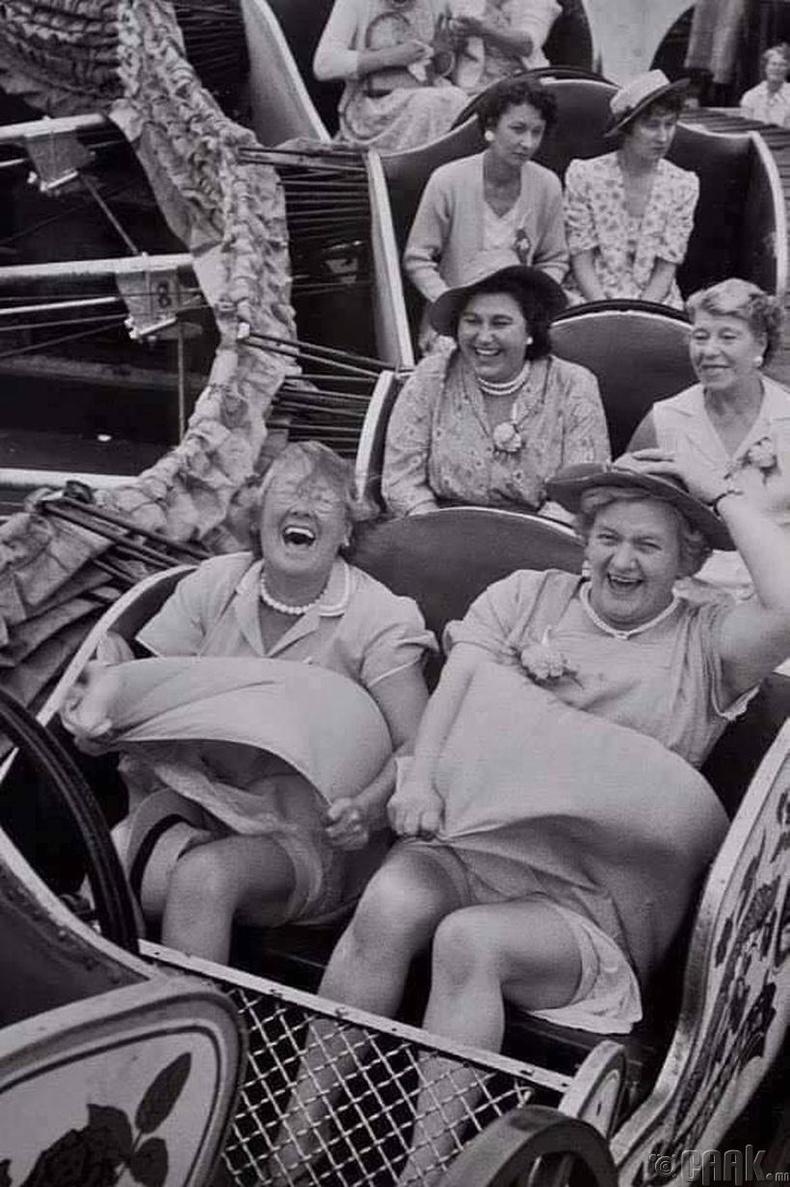 Галзуу хулгана дээрх настай эмэгтэйчүүд
