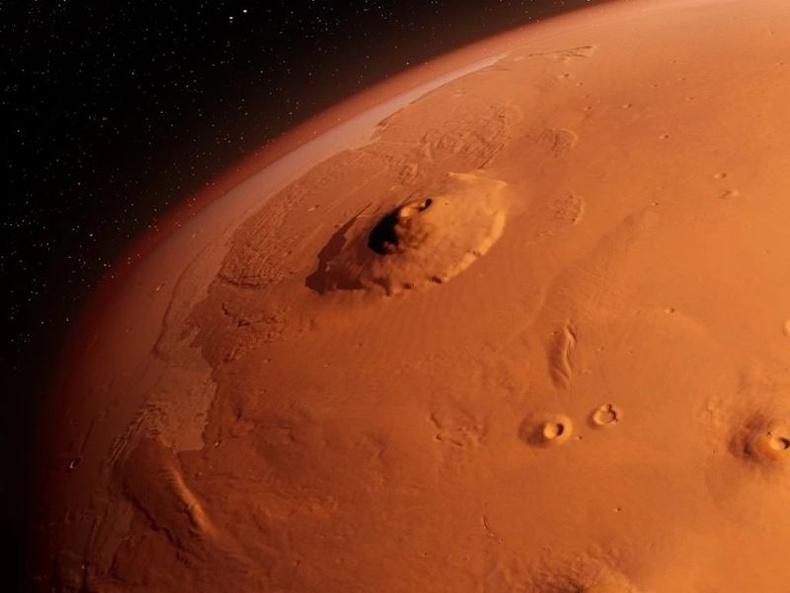 Ангараг гаригийн нарийвчилсан газрын зураг далайгаас илүү
