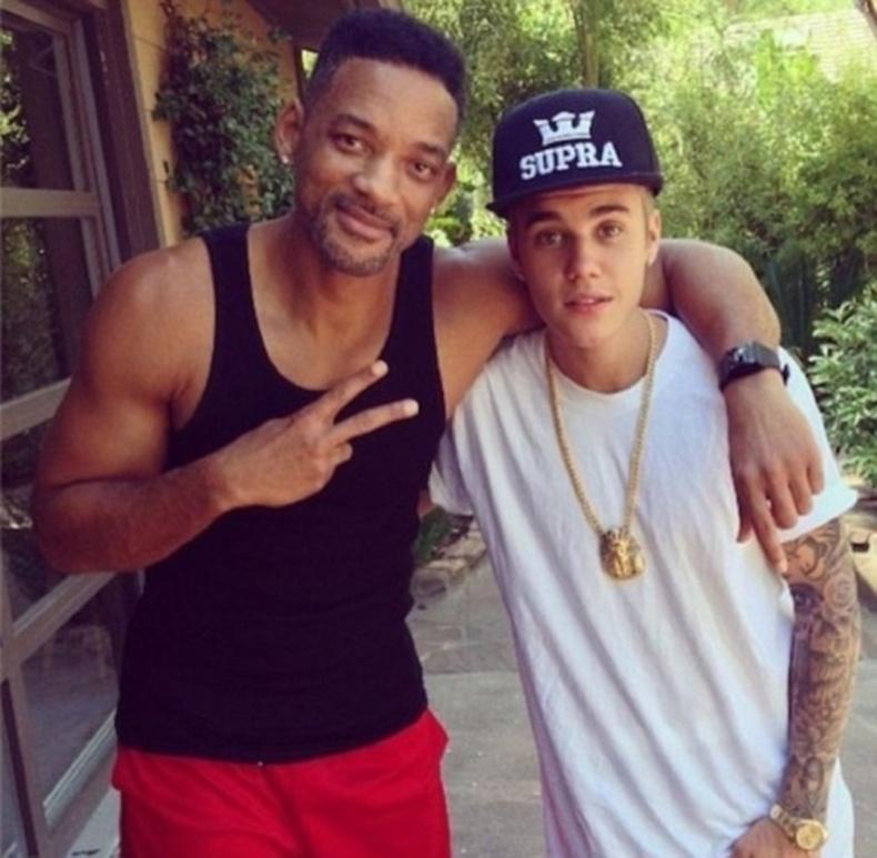 Жастин Бибер болонУилл Смит (Justin Bieber, Will Smith)