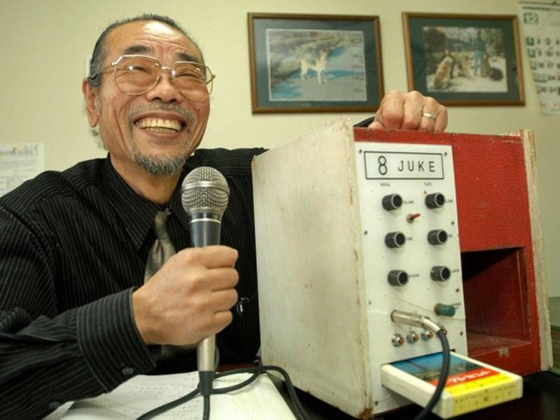 Хамгийн анхны караокены машин, Зохион бүтээгч Дайсүкэ Иноүэ (Daisuke Inoue), Япон - 1971 он