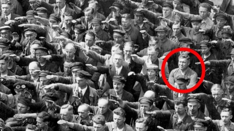 Гитлерт ёслохоос татгалзсан эрийн түүх
