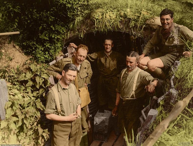 Германы нуувч дахь Британи цэргүүд - Бельги, 1917 он