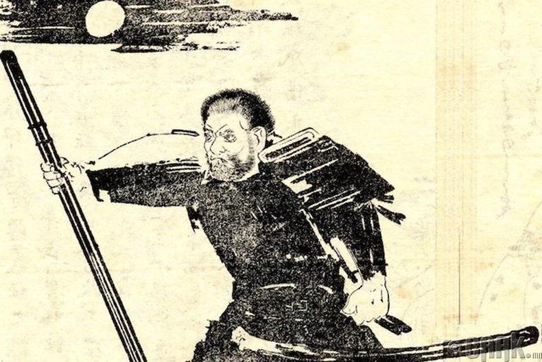 Сайто Мүсашибо (Saito Musashibo)  - Гожогийн гүүрэн дэх тулаан
