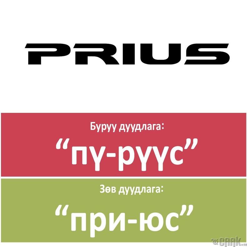 """Prius"""