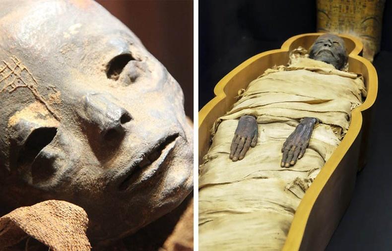 Колумбийн Сан-Бернардогаас олдсон муми