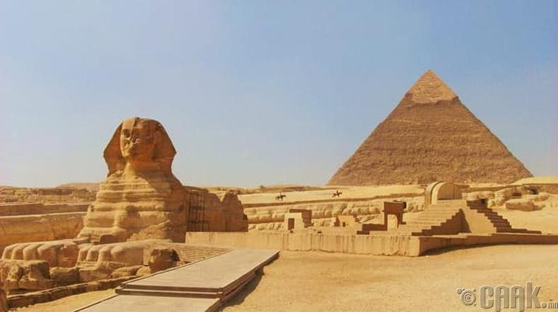Гизагийн пирамидын өнгөлгөө