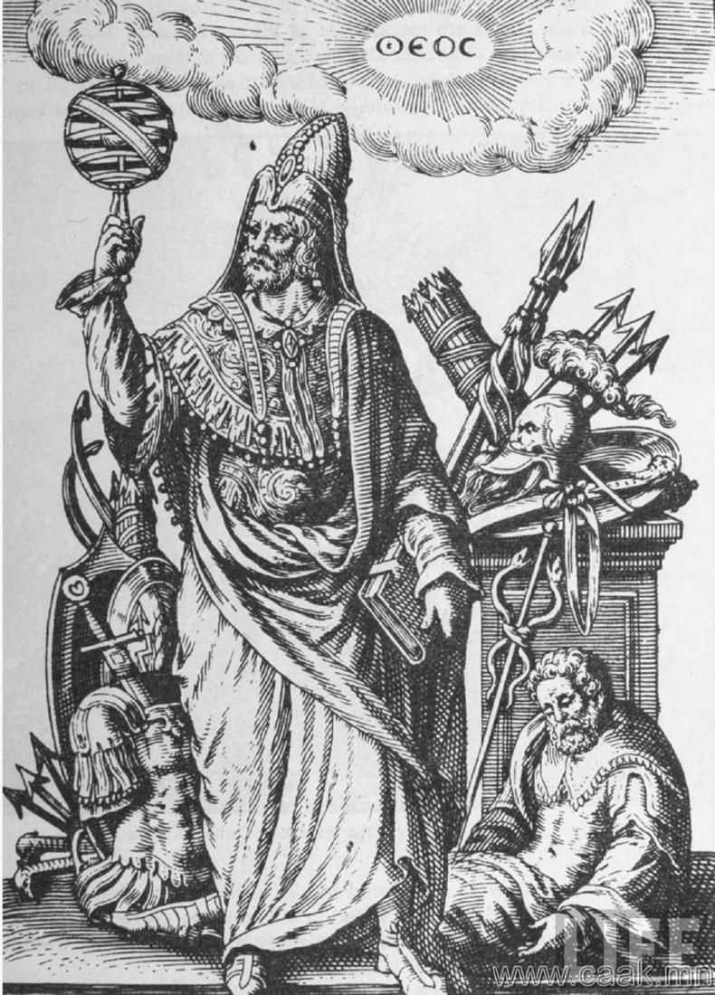 Герметизм - Бидэнтэй зэрэгцээд сайн муу элч нар амьдардаг
