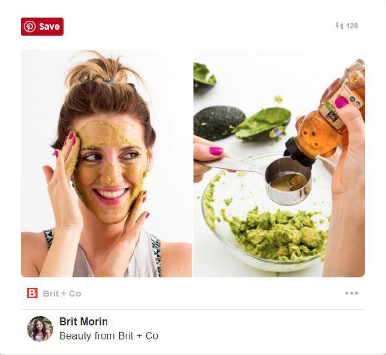 Зөгийн бал, авокадо маск