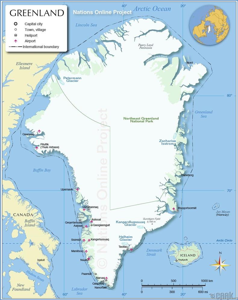 Бид бодохдоо: Гренланд бол тусгаар улс