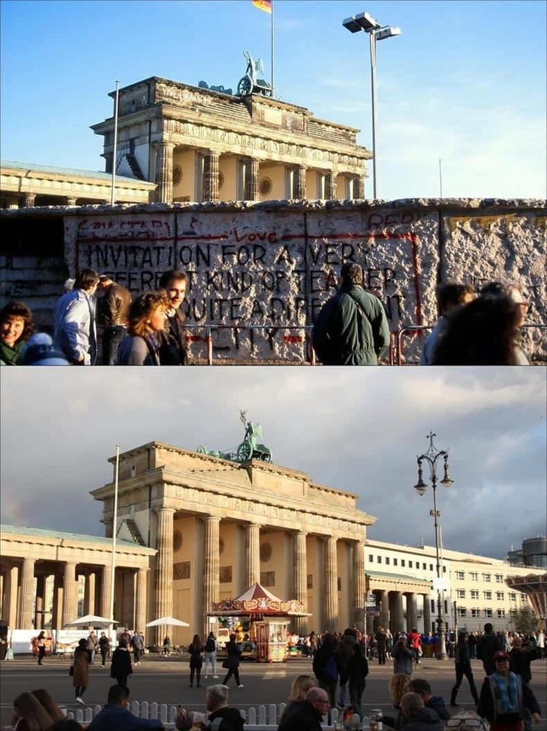 Берлиний хана 30 жилийн өмнө ба одоо