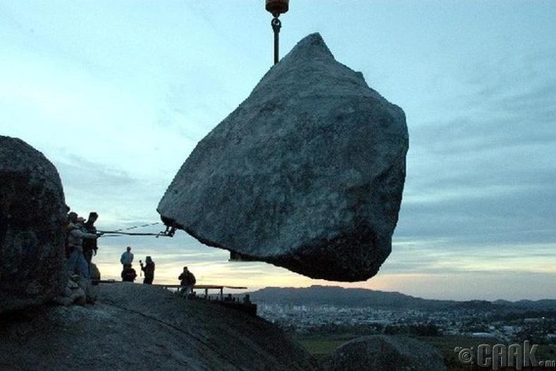 """Аргентин дахь """"Даваскогийн чулуу"""""""