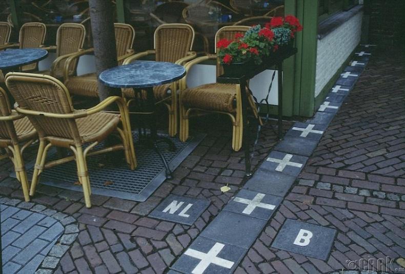 Бельги ба Недерланд улсын хил