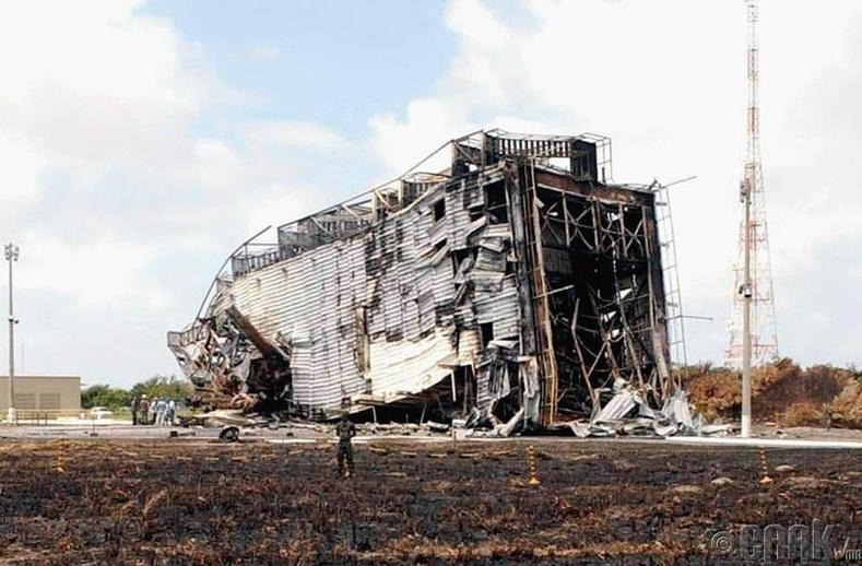 Бразилийн Алкантара сансрын буудал дахь осол