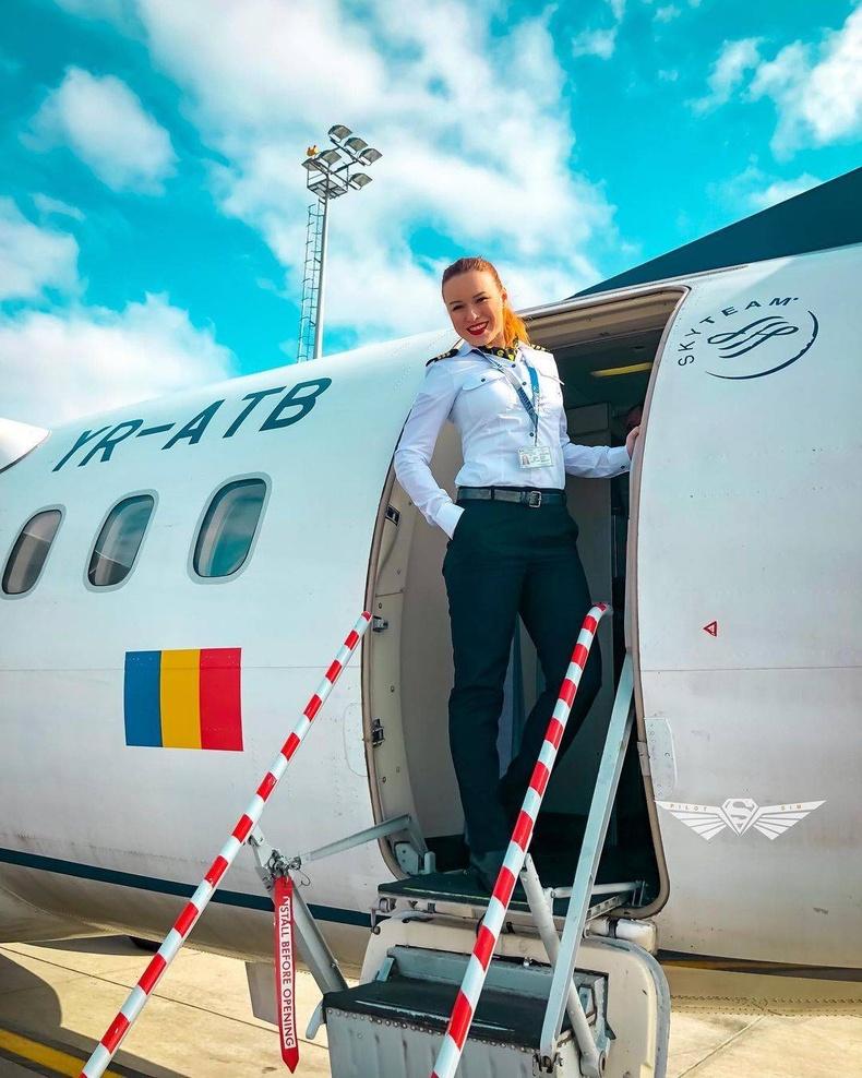 Румыны нисгэгч Симона Паун