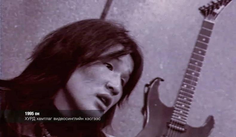 Хурд хамтлагийн соло гитарчин  Д.Отгонбаяр