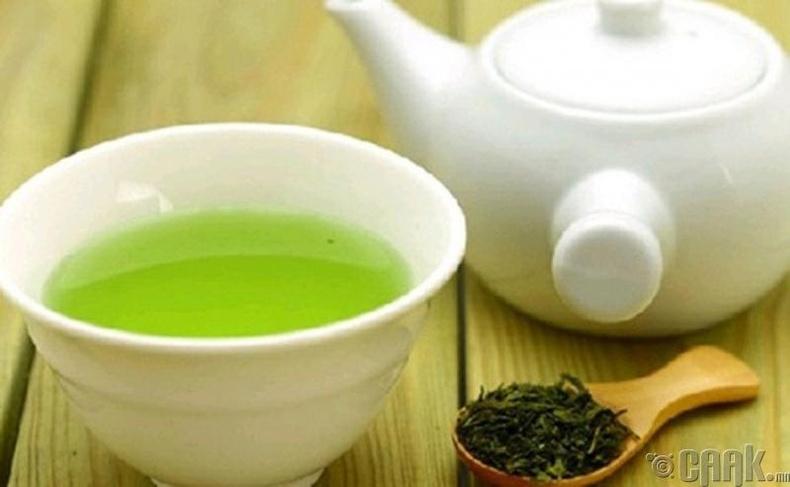 Ногоон цай биед сөрөг нөлөөтэй юу?