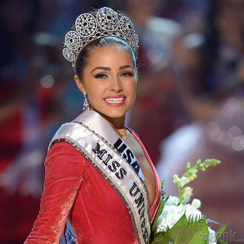 """""""Miss Universe-2012""""-ын ялагч: Америкийн гоо бүсгүй Оливия Калпо, 20 настай, 165 см өндөр."""
