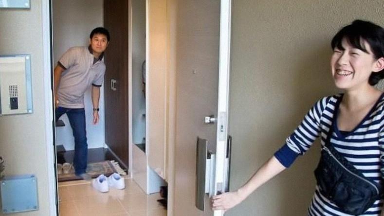 Японы дундаж давхаргын залуу хосын гэрээр зочилцгооё! (45 фото)