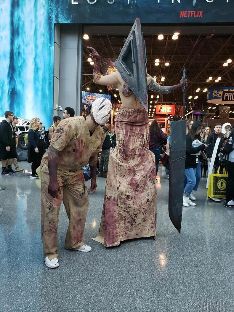 """Silent Hill"" киноны Сувилагч ба Пирамид толгойт"