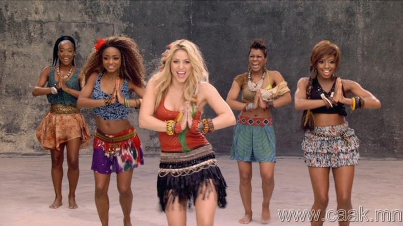 """Shakira – """"Waka Waka"""" (This Time For Africa)"""