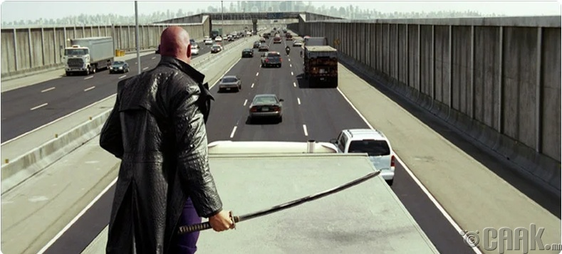 """The Matrix Reloaded"": Хурдны зам дээр хөөцөлдөх хэсэг - 40 сая ам.доллар"