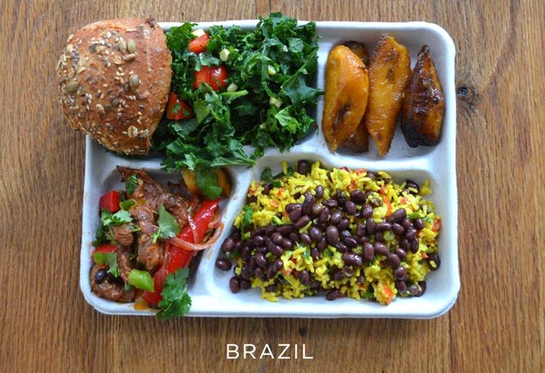 Орон орны сургуулийн өдрийн хоол