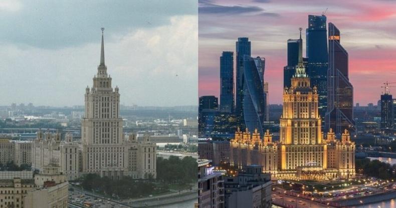 Москва хот 20 жилийн дотор хэрхэн өөрчлөгдсөн бэ?