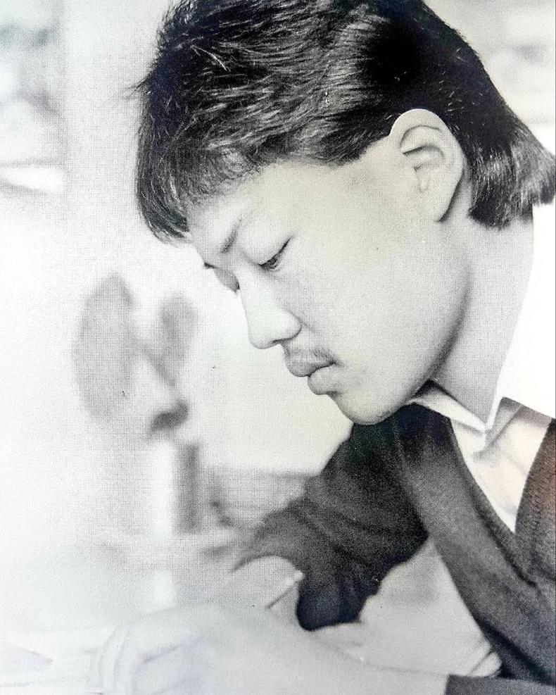 МУСГЗ, Шог зураач С.Цогтбаяр (1984 он)