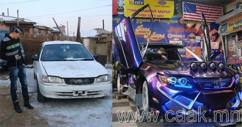 Монголд машин үйлдвэрлэв